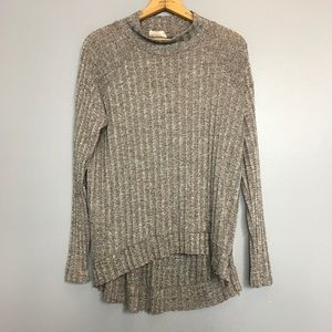 ALTAR'D STATE | marled mock neck tunic sweater M